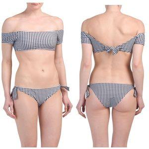 NWT Cabana De Sol Gingham Swimsuit